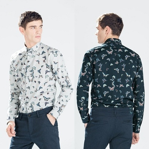 Printed Party Wear Men's Shirt